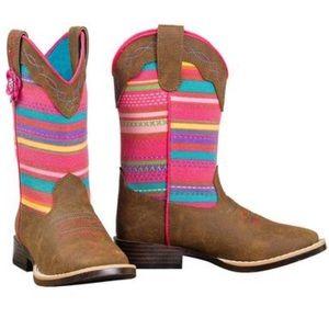 Girls Blazin Roxx Camilla Serape boots